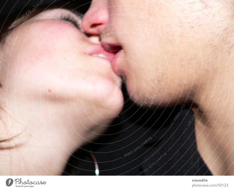 Face Black Eyes Love Hair and hairstyles Sex Skin Kissing Trust Facial hair Tongue