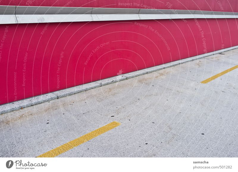 City Red Environment Yellow Wall (building) Lanes & trails Wall (barrier) Line Going Facade City life Transport Concrete Cycling Corner Driving