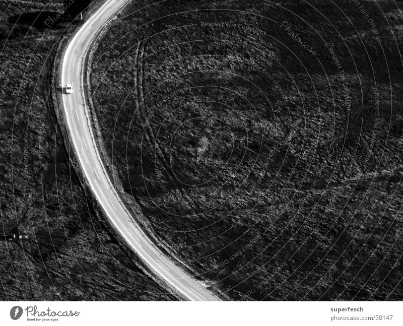 on the road Vehicle Driving Street Lanes & trails Curve Arch