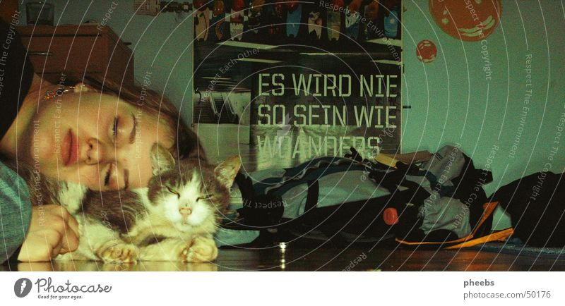 It Will Never Be Like This Somewhere else Cat Backpack Poster fm4