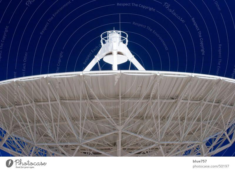 Sky White Blue Antenna Radio telescope Very Large Array
