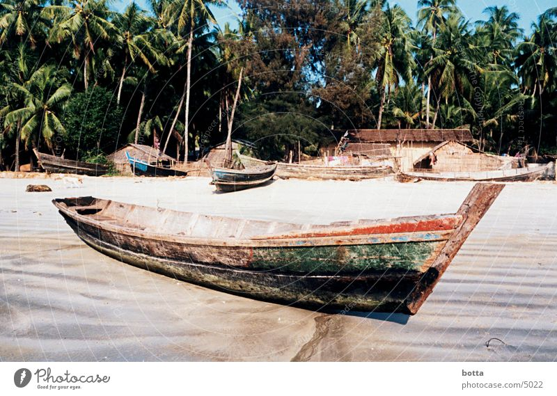 A ship will come Myanmar Asia Coast Watercraft Beach Americas