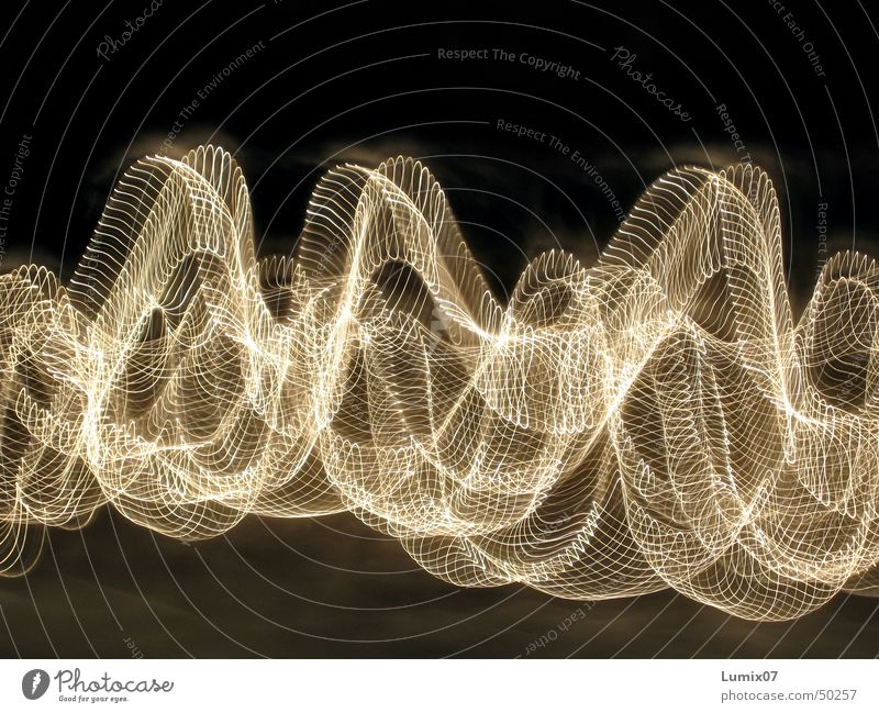 Chain of lights 2 Long exposure Stripe Light Fairy lights Visual spectacle Style Night Lamp Physics Crazy Light (Natural Phenomenon) Tracks Movement Warmth