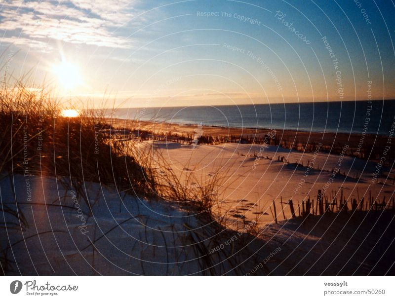 sylt in winter just before 4:00... ... great atmosphere with good friends just great Digital photography