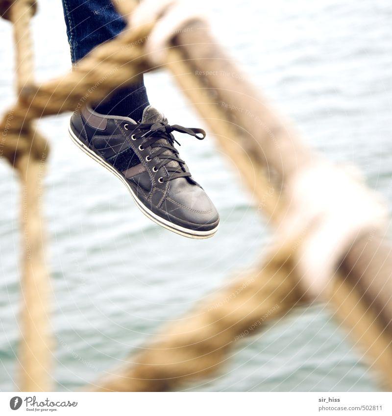 hang out Sailing Feet Baltic Sea Cruise Passenger ship Sailing ship Footwear To enjoy Hang Vacation & Travel To swing Sit Dream Wait Brash Happiness Infinity