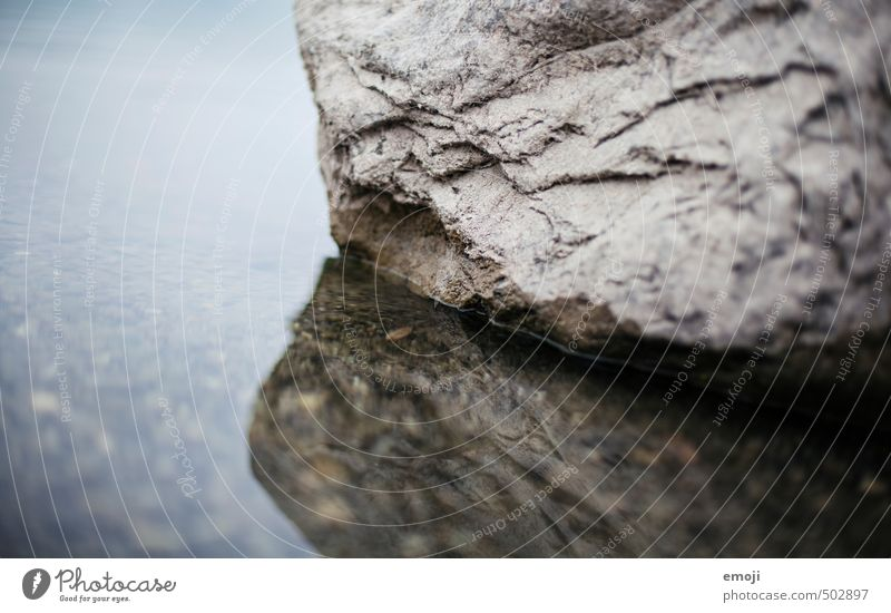 structure Environment Nature Water Sea bed Lake Stone Wet Blue Surface Surface structure Colour photo Subdued colour Exterior shot Close-up Deserted Day