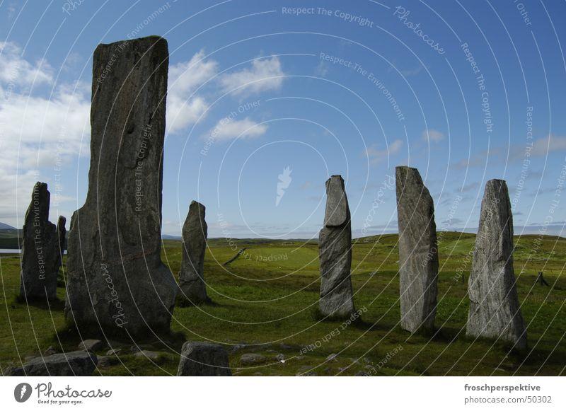Scotland Stone circle Western islands