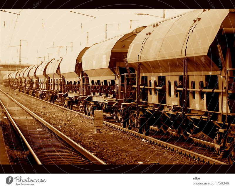 Transport Logistics Railroad tracks Train station Freight train Freight car
