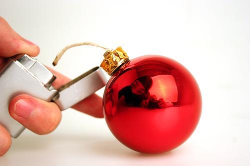 Merry Christmas ;-) Glitter Ball Bomb Christmas decoration Christmas & Advent gothok perff Anti-Christmas