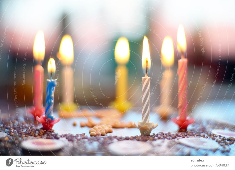 limited legal capacity Party Feasts & Celebrations Birthday Decoration Candle Birthday cake Joy Happy Happiness Anticipation Enthusiasm Infancy Surprise 7 Burn
