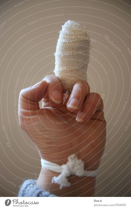 Hand Healthy Fingers Symbols and metaphors Illness Anger Indicate Argument Aggression Against Gesture Wound Protest Bandage Animosity Home improvement