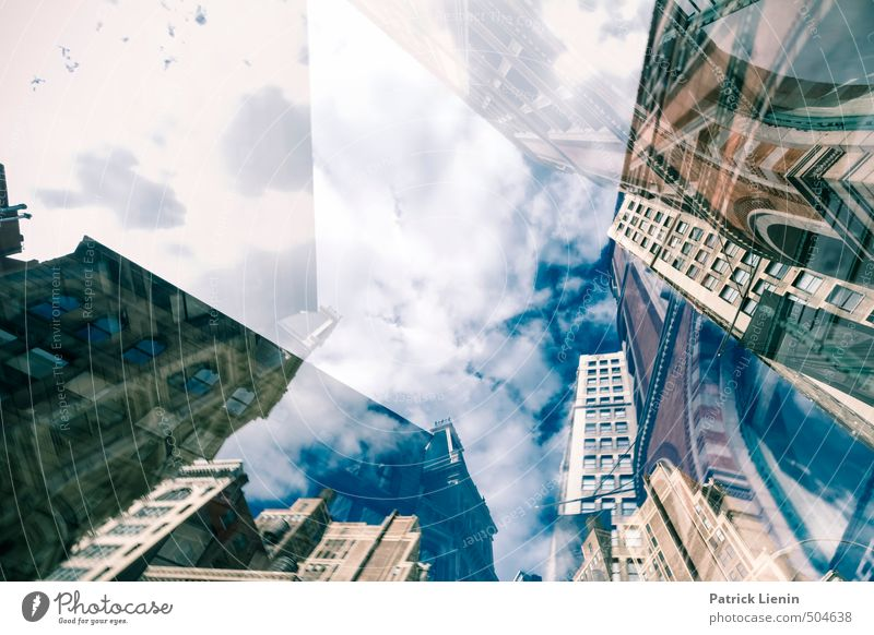 City Environment Wall (building) Architecture Wall (barrier) Building Moody High-rise Modern Perspective Future Creativity Infinity USA Team Manmade structures
