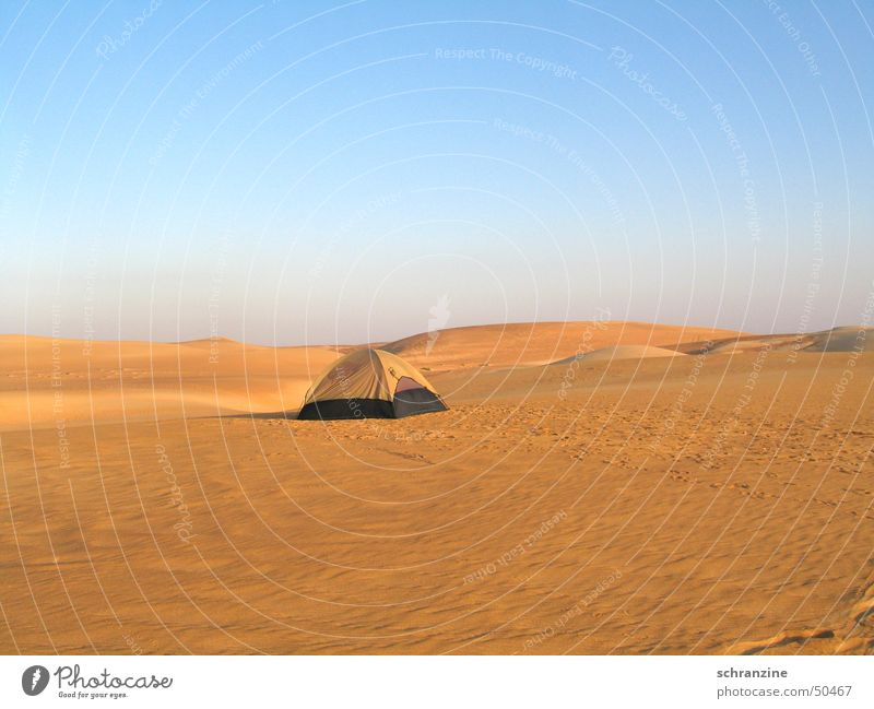 Sky Vacation & Travel Loneliness House (Residential Structure) Far-off places Landscape Sand Adventure Sleep Desert Hotel Camping Tent Accommodation Asia Oman