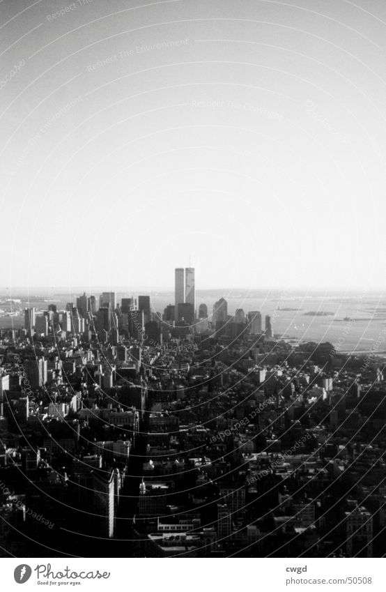 it will never be the same again... New York New York City Manhattan World Trade Center High-rise Panorama (View) South West Urban canyon