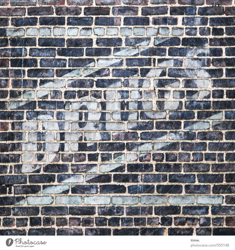 No power ... Manmade structures Building Wall (barrier) Wall (building) Facade Brick wall Brick facade Advertising Dye Stone Sign Characters Signage