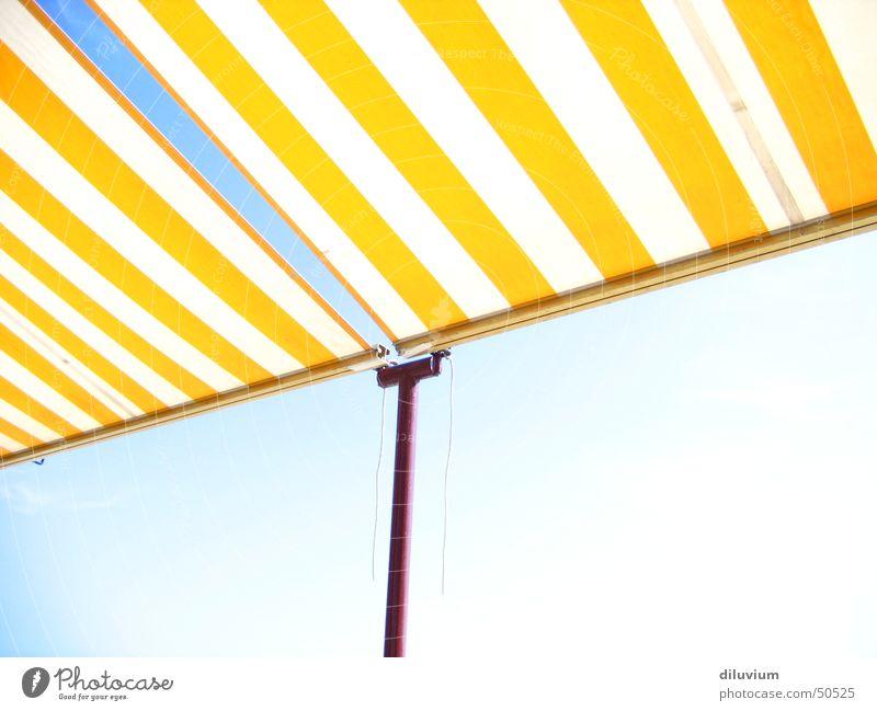 Sky Sun Red Yellow Bright Stripe Rod Overexposure