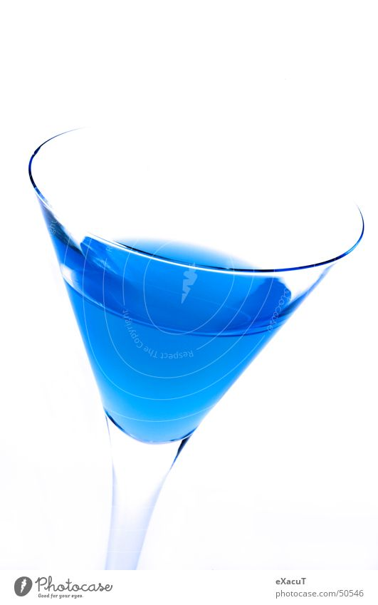 Blue Glass Beverage Drinking Alcoholic drinks Noble Unnatural