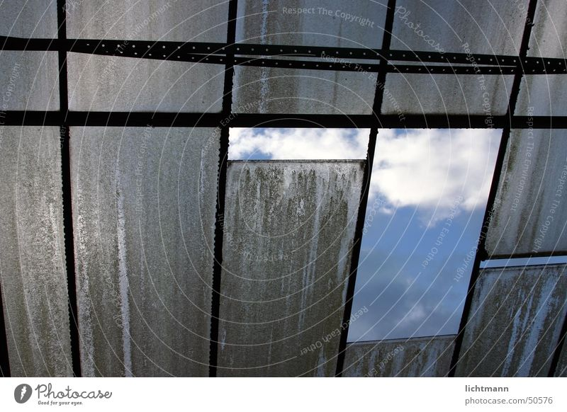 Window Glass roof