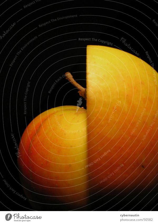 apple halves Nutrition Green Red Autumn Apple Stalk Fruit