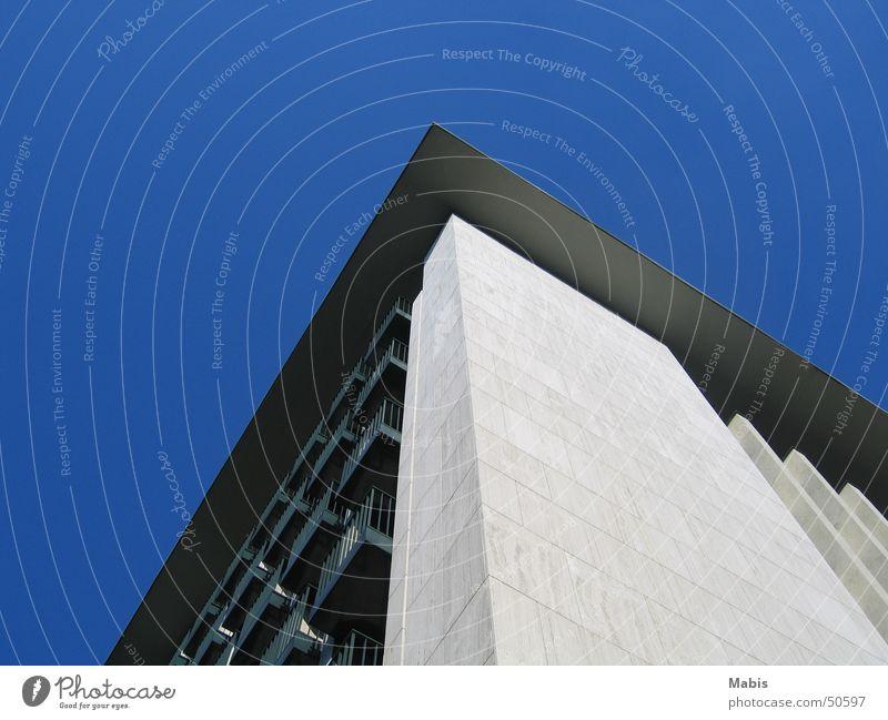 White Berlin Building Balcony Blue sky