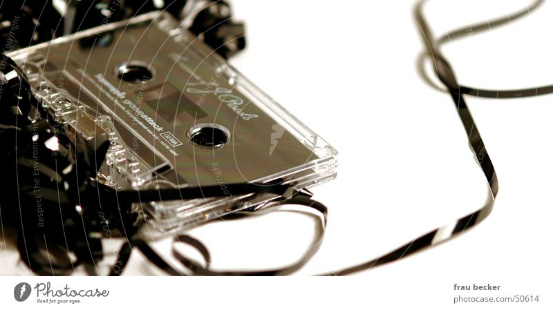 Music Listening Tape cassette Symbols and metaphors Tape spaghetti Radio Play