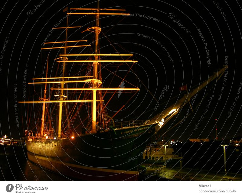 Dark Harbour Sailing ship