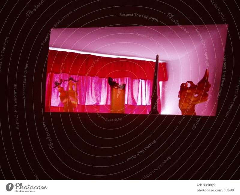 dali`s home Window Red Lifestyle Abstract Teatro Museo Dalí Interior design