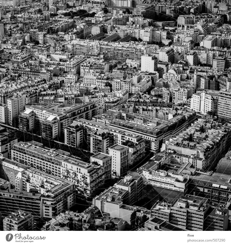 Paris Culture Town Capital city Downtown Populated House (Residential Structure) High-rise Park Places Manmade structures Building Architecture Wall (barrier)