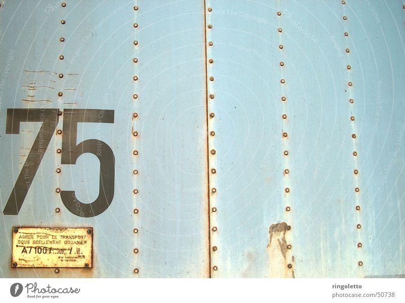 Cold Logistics Highway Rust Iron Rivet Symbols and metaphors 75