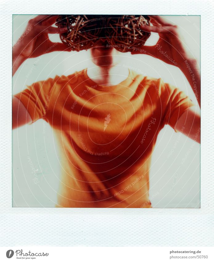 Orange Search Eyeglasses Polaroid Blind