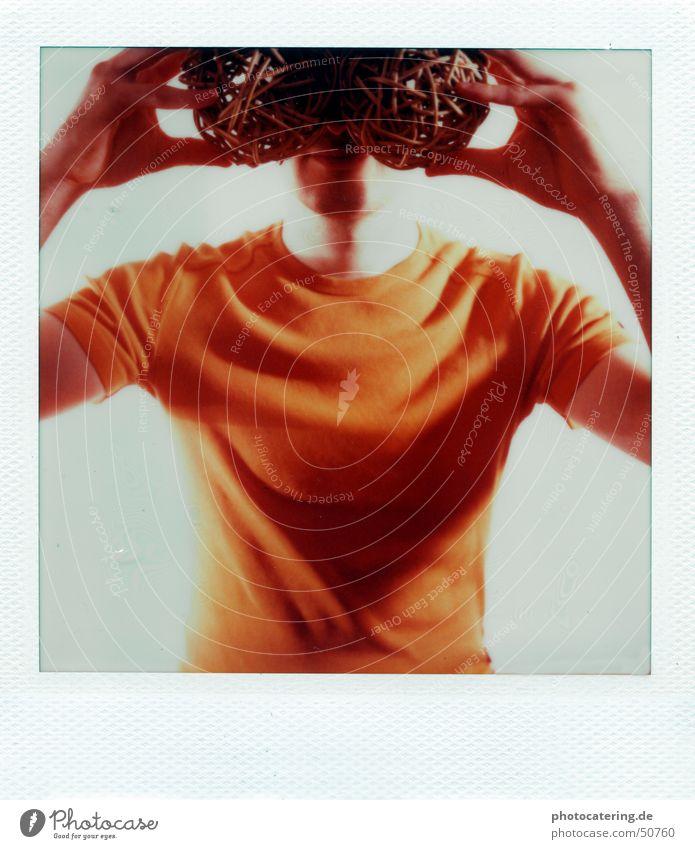 Orange Search Eyeglasses Polaroid Blind