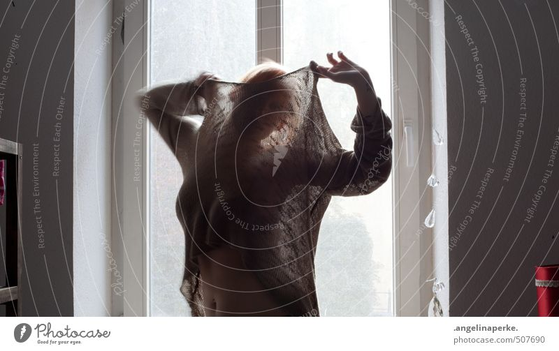 I just don´t know what to do with myself II Hide Transparent sweater Lounge Light Shadow