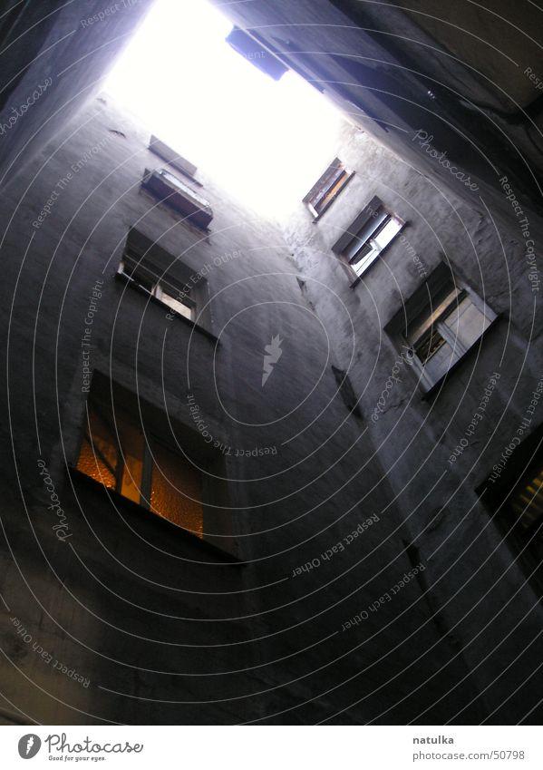 Sky Loneliness Wall (building) Window Wall (barrier)