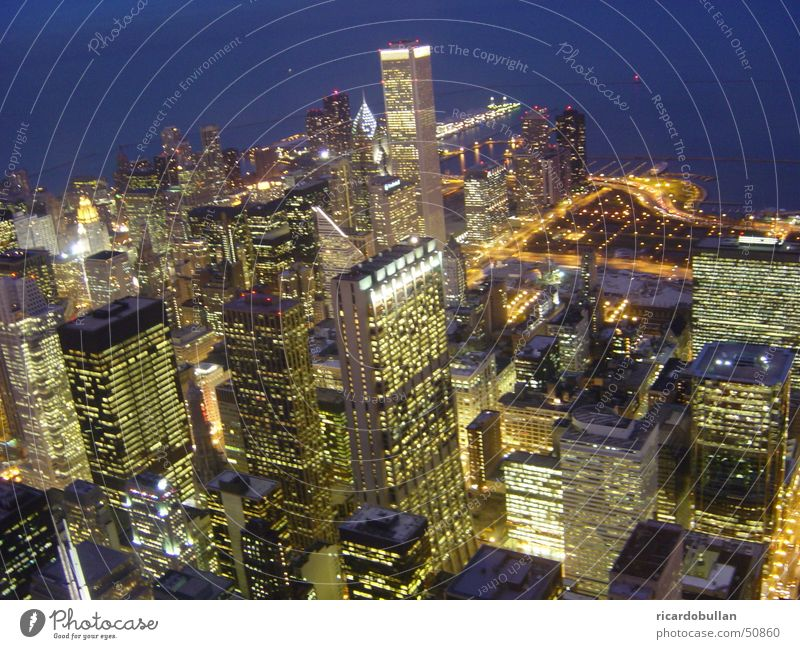 City High-rise Americas Skyline Chicago Michigan Illinois