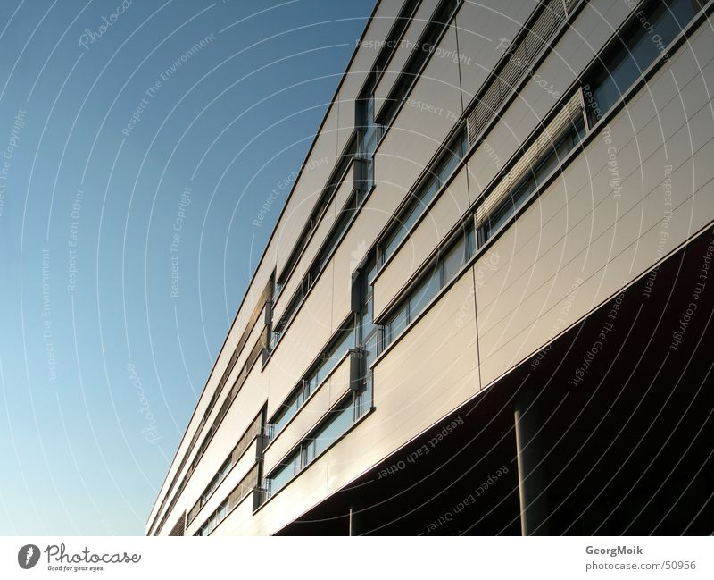 infinitely House (Residential Structure) Building Bad Gleichenberg Joanneum University of Applied Sciences Joanneum Window Sky Light Exterior shot Austria