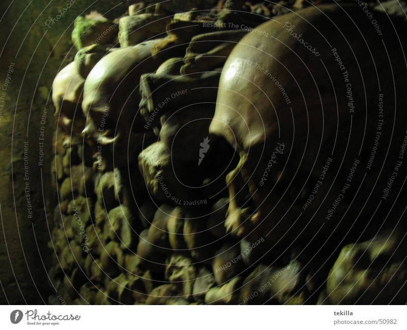 Paris Death's head Catacomb