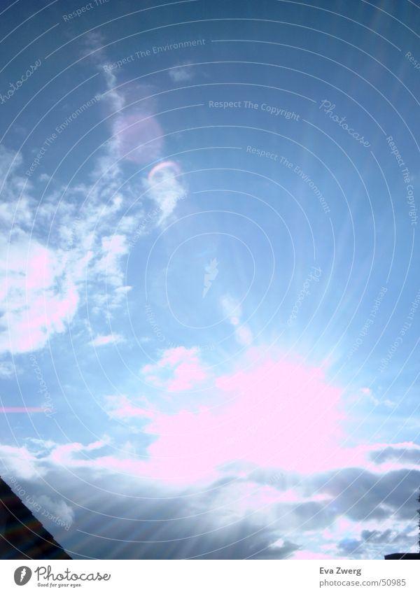 October Sun Clouds Sky Blue