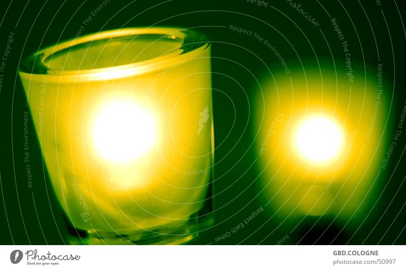 Green Lamp Bright Lighting Glass Technology Decoration Awareness Electrical equipment Greeny-yellow