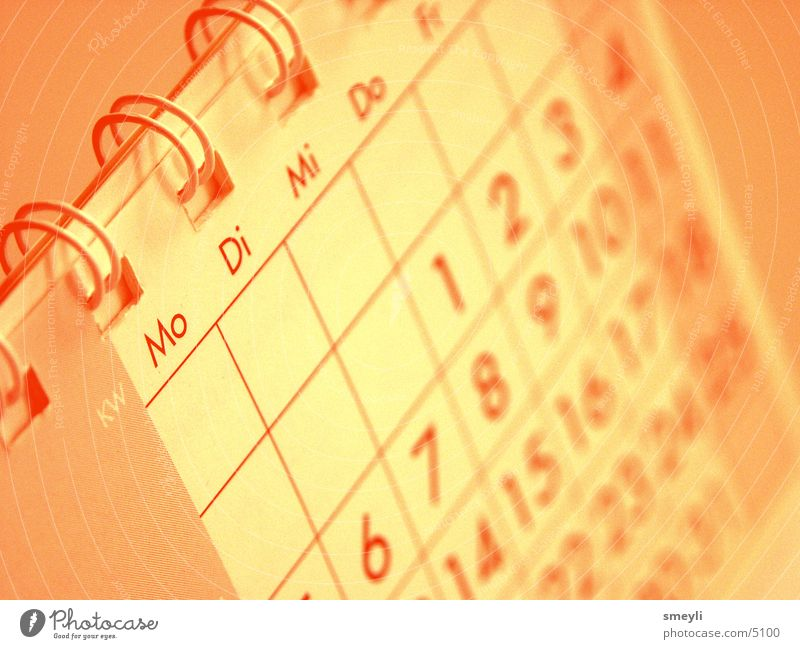 Graffiti Time Work and employment Business Orange Planning Calendar Year Date Month Commercial Illustration