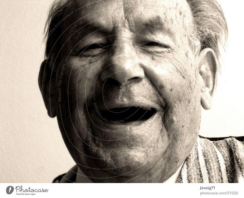 Man Face Senior citizen Laughter Portrait photograph Human being Happiness Grandfather Grandparents Male senior