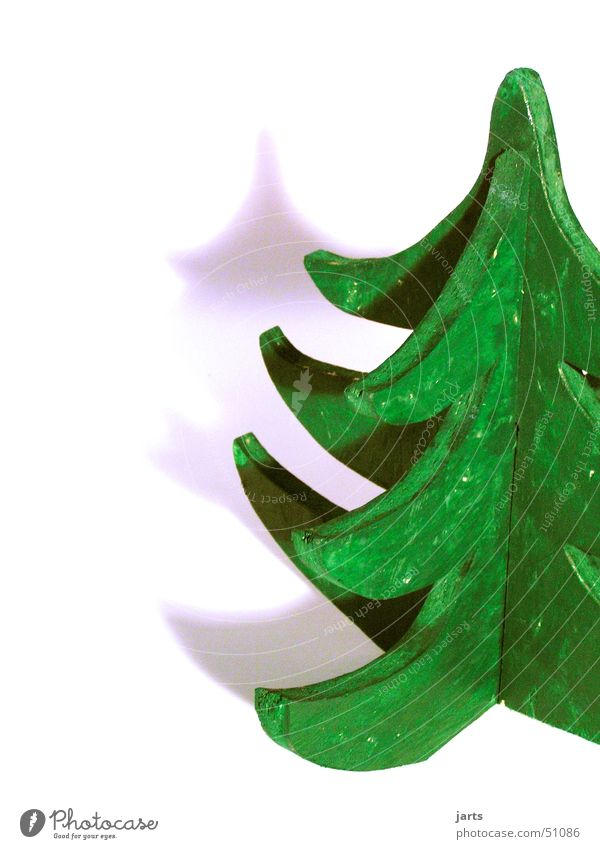 Christmas & Advent Tree Green Winter Wood Material Art Craft (trade) Work of art Christmas decoration