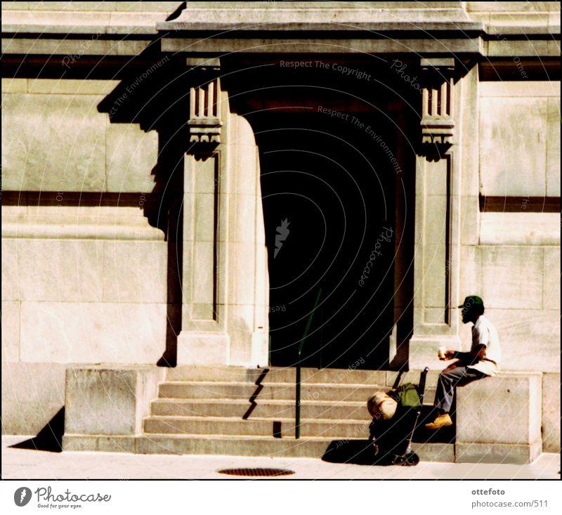 Beggar in Washington DC Panhandler Town Human being USA homeless person