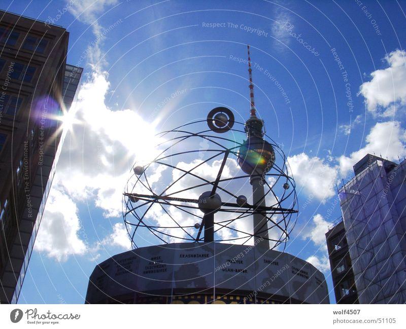 Berlin Berlin TV Tower Alexanderplatz World time clock