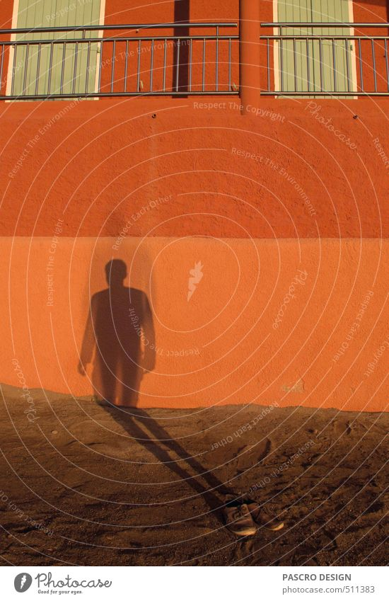 invisible man Closing time Human being Art Work of art Sand Funny Protection Authentic Surprise Fear of the future Timidity Idea Break Stress Dream Sadness