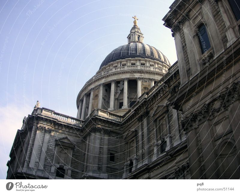 Religion and faith London Domed roof St. Paul's Cathedral