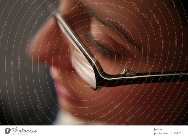 glasses Eyeglasses Eyes Detail Perspective Glass fall man