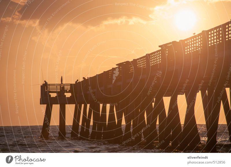 Sky Nature Vacation & Travel Blue Beautiful Summer Sun Ocean Beach Yellow Warmth Coast Moody Waves Gold Warm-heartedness