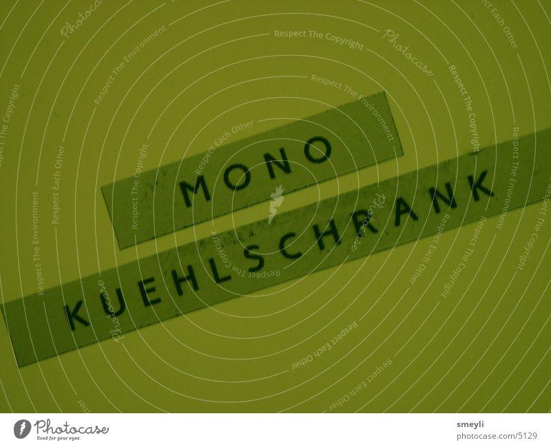 Label Icebox Mono Photographic technology