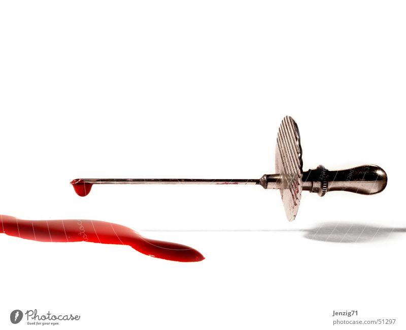 Blood 'n' steel. Cannula Syringe Doctor Carer Nurse Health care Drops of water Blood test