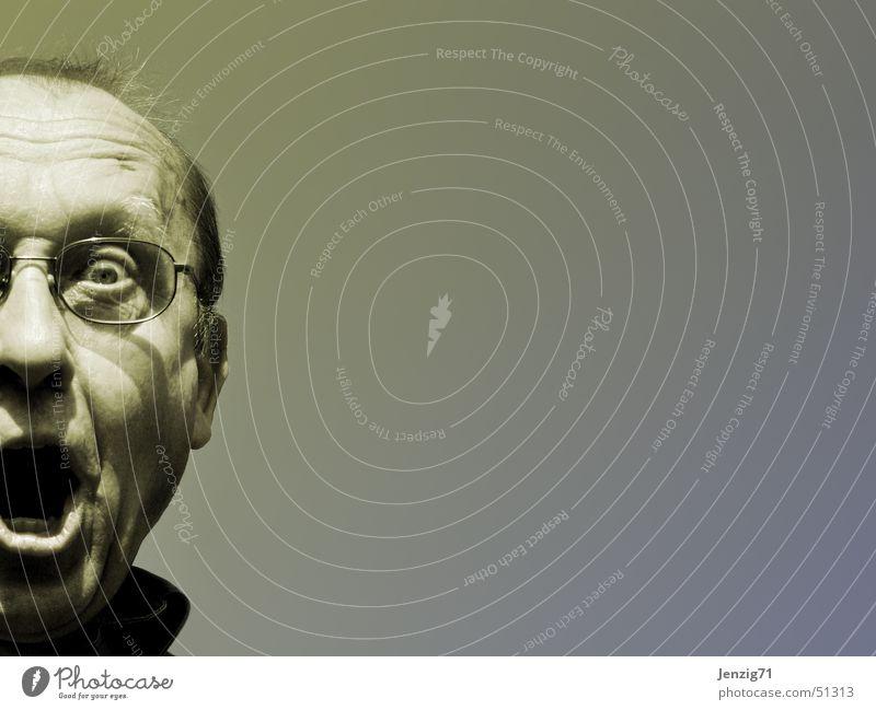 Human being Man Face To talk Head Scream Portrait photograph